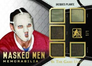 Leaf In The Game Used Masked Men Memorabilia