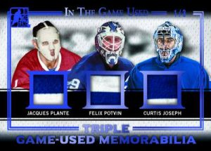 Leaf In The Game Used Triple Mem