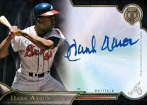 Hank Aaron Auto mem