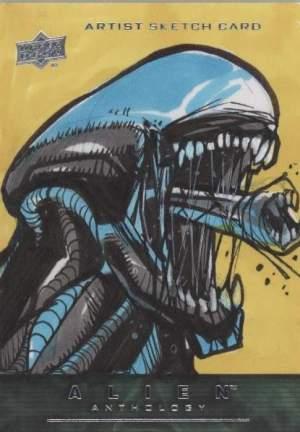 2015 Alien Anthology Artist Sketch Card