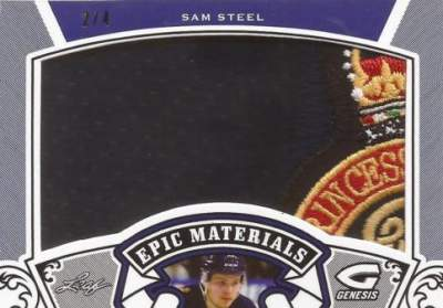 2016 Leaf Genesis Hockey Epic Materials