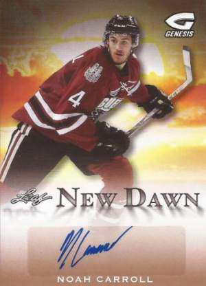 2016 Leaf Genesis Hockey New Dawn Autograph