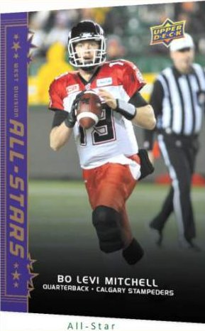 2016 CFL Base Card All-Star