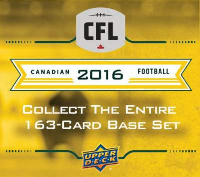 2016 CFL Base Set