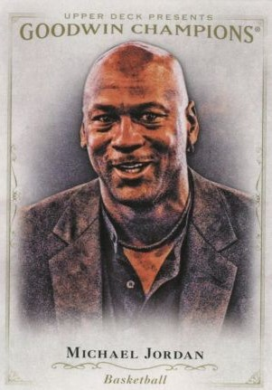 Goodwin Champions Checklist Base Card Michael Jordan