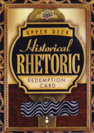 Historical Rhetoric Booklet Redemption