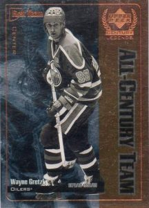 Upper Deck Century Legends Gretzky Team