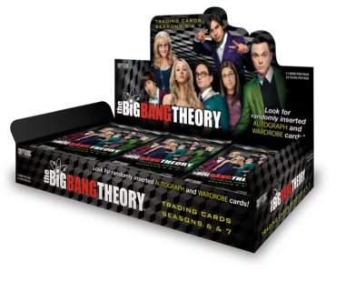 Big Bang Theory Season 6&7 Hobby Box