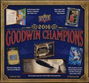 2016 Goodwin Champions Hobby Box
