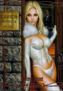 Marvel Masterpieces Base Gold Emma Frost