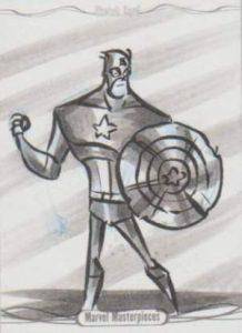 Marvel Masterpieces 1/1 Sketch Cap