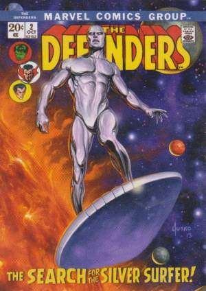 Marvel Masterpieces What if Silver Surfer SP