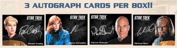 Star Trek TNG Portfolio Prints Autographs
