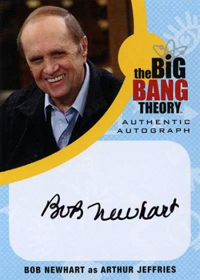 Cryptozoic Big Bang Theory Bob Newhart Autograph