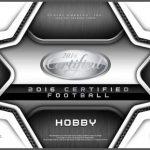 Panini Certified Football box
