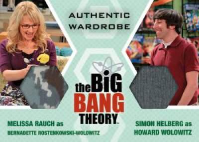 Cryptozoic Big Bang Theory Dual Memorabilia