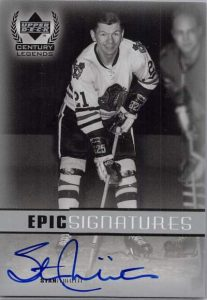 Upper Deck Century Legends mikita auto