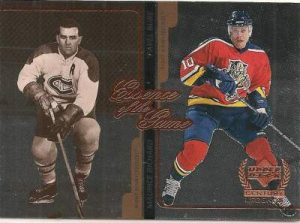 Upper Deck Century Legends Richard Bure