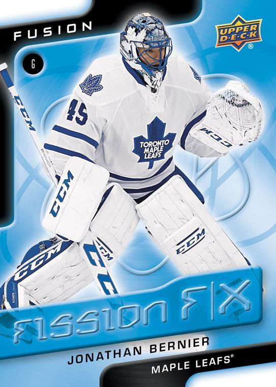 15-16 Upper Deck Fusion Fission Effects Bernier