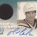 Upper Deck Century Legends Lemieux auto jersey