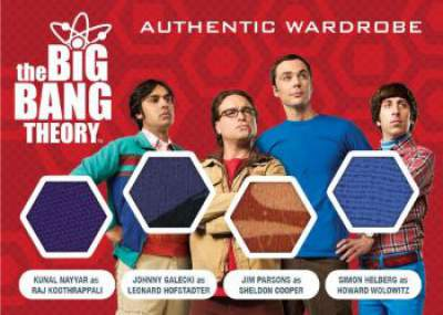 Cryptozoic Big Bang Theory Quad Wardrobe