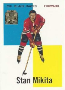 Topps O-Pee-Chee Archives Mikita Front Base