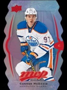 16-17 UD MVP Hockey Colors an Contours Mcdavid
