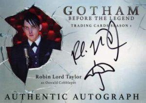 2016 Cryptozoic Gotham Robin Taylor Auto