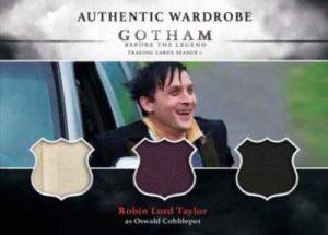 2016 Cryptozoic Gotham Robin Lord Taylor Triple Mem