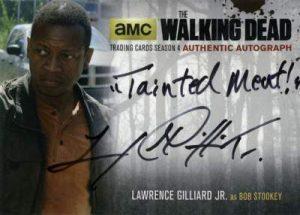 2016 Walking Dead Autographs Bob Stookey Wednesday Wrap-Up