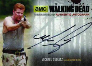 2016 Cryptozoic The Walking Dead S4 P2 Autograph