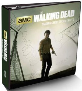 2016 Cryptozoic The Walking Dead S4P2 Binder