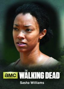 2016 Cryptozoic The Walking Dead S4P2 Characters Bio