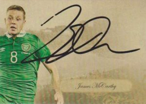 Futera Unique Majestic Auto James McCarthy