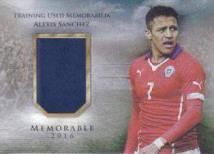 Futera Unique Memorable Memorabilia Alexis Sanchez