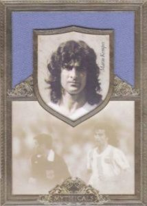 Futera Unique Mythicals Mario Kempes