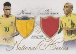 Futera Unique National Heores Neymar/Ronaldo