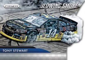 Panini Prizm NASCAR Blowing SMoke