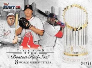 2016 Topps Bunt Title Town
