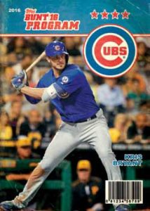 2016 Topps Bunt program