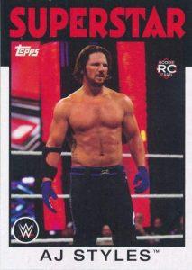 Topps WWE Heritage AJ Styles Base
