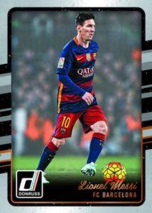 2016 Donruss Soccer Base Lionel Messi