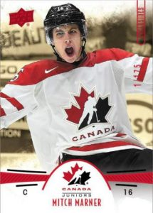 Team Canada Juniors Base Exclusive Mitch Marner