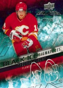 Upper Deck Black Black Ice Signatures