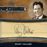 2016 Leaf Pop Century Vut Signatures Rudy Vallee Autographs