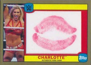 Topps WWE Heritage Diva Kiss Charlotte