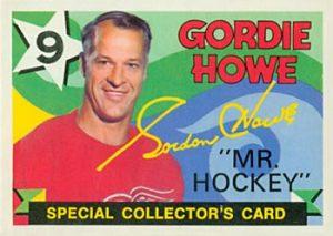 1971-72 O-Pee-Chee Collectors Gordie Howe