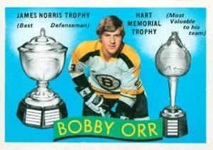 1971-72 O-Pee-Chee Tophy Winners