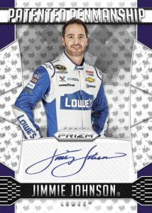 Panini Prizm NASCAR Patented Penmanship