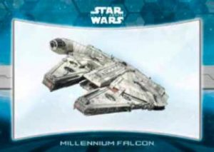 Star Wars The Force Awakens Chrome Millennium Falcon